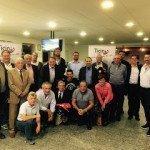 Team Ticino con gli sponsor al Caseificio del Gottardo!