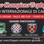 LUGANO CHAMPIONS TROPHY – 18 giugno 2017