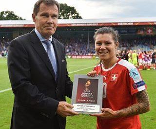 Prima vittoria svizzera all'europeo femminile