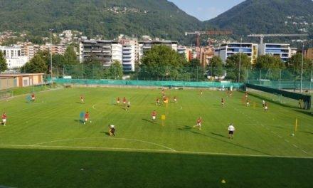 Lugano, bianconeri in campo con un occhio al mercato