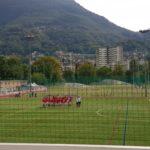 Lugano, corsa, stretching e schemi nel menù sul sintetico