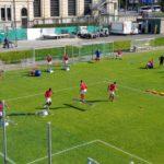 Lugano, dalla sala video al campo