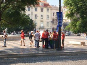 Tifosi svizzeri a Lisbona – c'è anche la fondue …