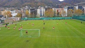 Lugano, il doppio con partitella pomeridiana