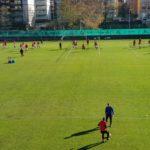 Lugano, il torneo di calcio-tennis nel primo giorno del Circo Knie