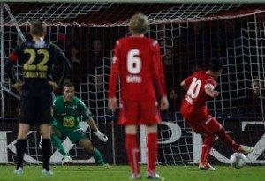 Vanins, il portiere di Coppa e i record baltici