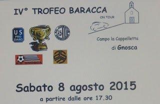 A Gnosca la IV^ edizione del Trofeo Baracca