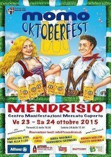Momò Oktoberfest al mercato coperto di Mendrisio