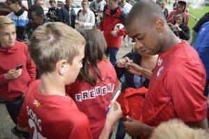 Gelson e il suo Eintracht negli USA