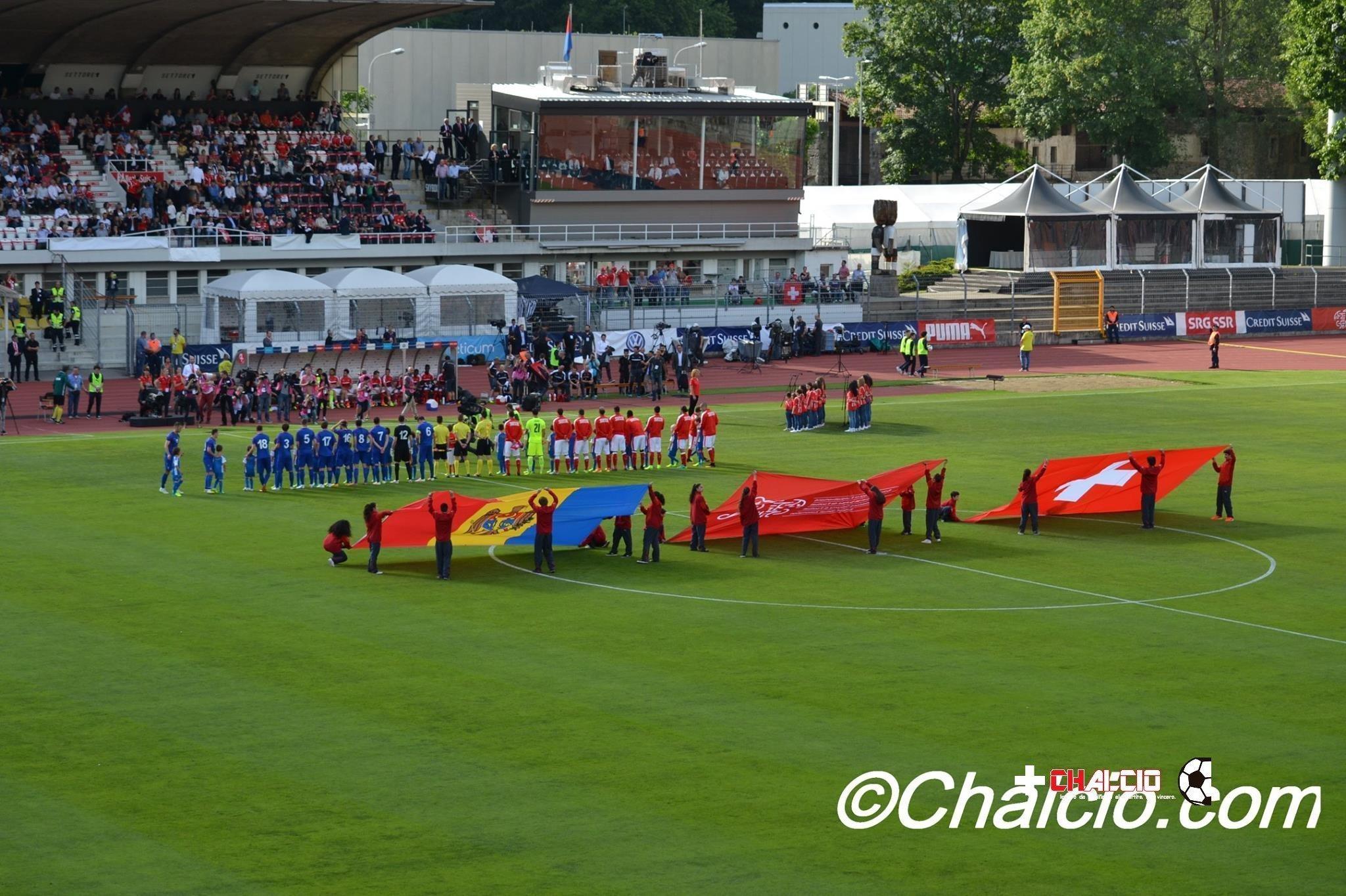 La Svizzera lancia Euro 2016 con una vittoria sulla Moldavia
