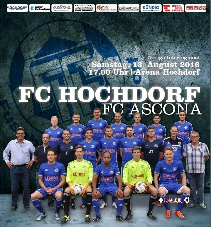 2LI: Hochdorf-Ascona 3-:1