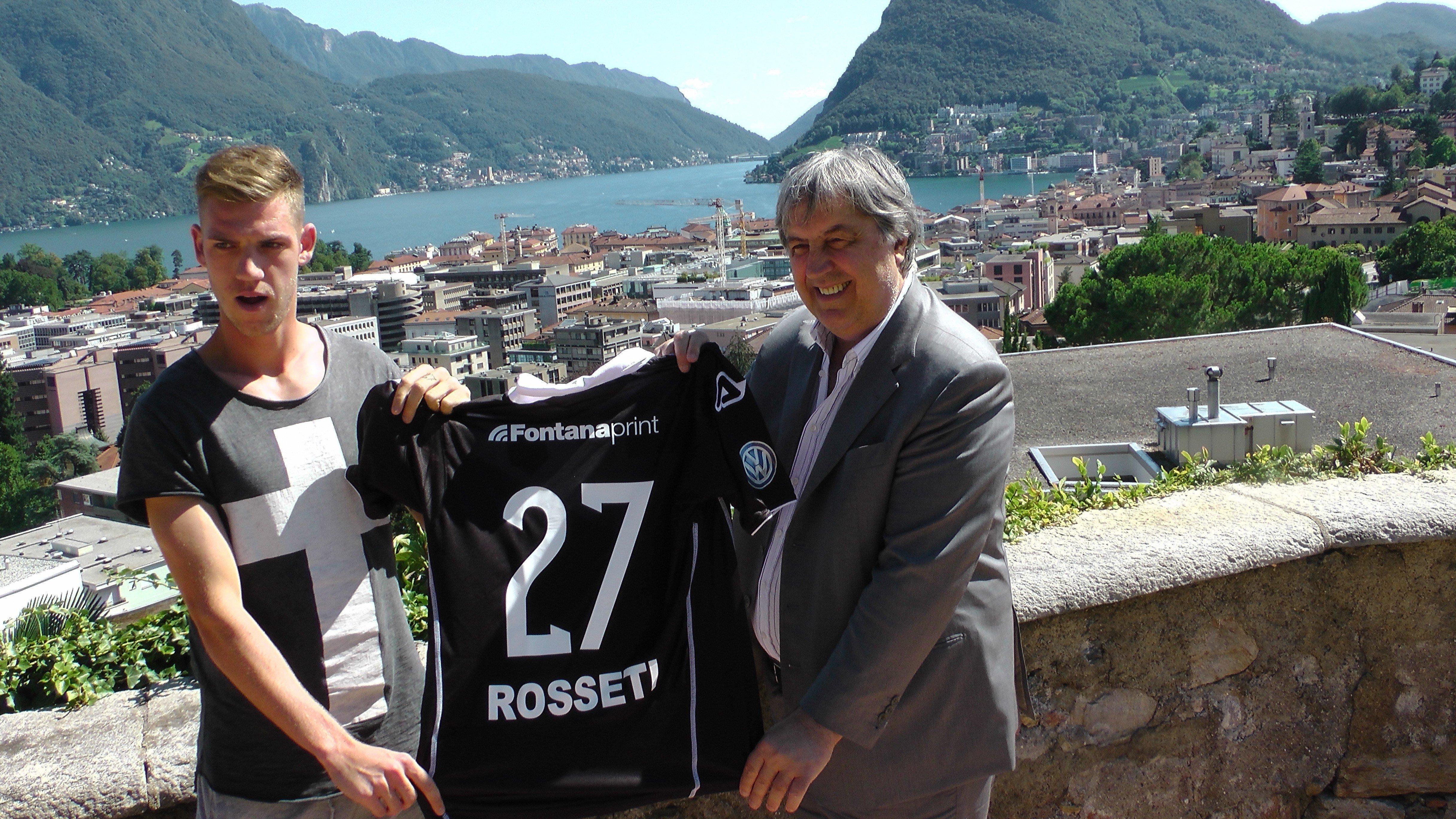 Rosseti è giunto a Lugano