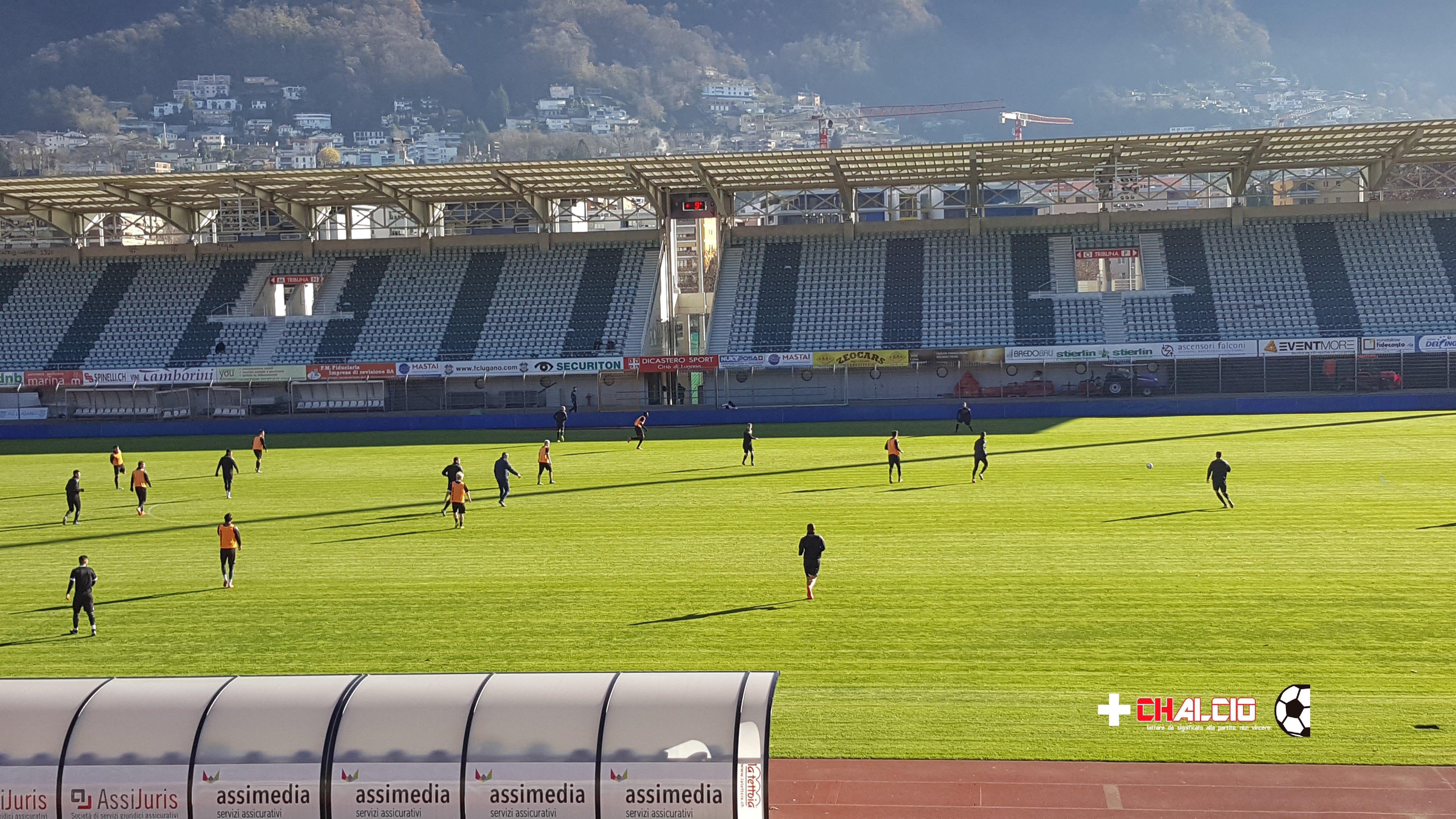Lugano, Conte: «Dobbiamo fare risultato a tutti i costi»