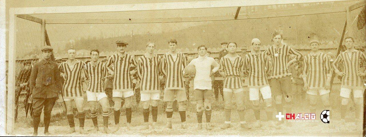 Chiasso – Pro Vercelli : oltre 100 anni fa la prima sfida