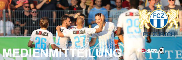 FCZ: primo contratto per Fabian Rohner