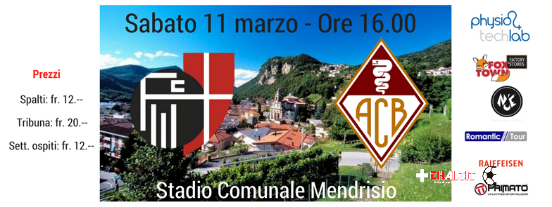 1L: la preview di Mendrisio – Bellinzona