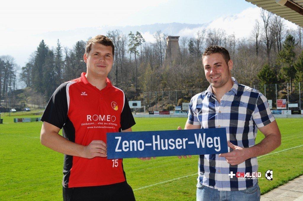 """CHuriosità: la nuova  """"Zeno-Huser-Weg"""""""