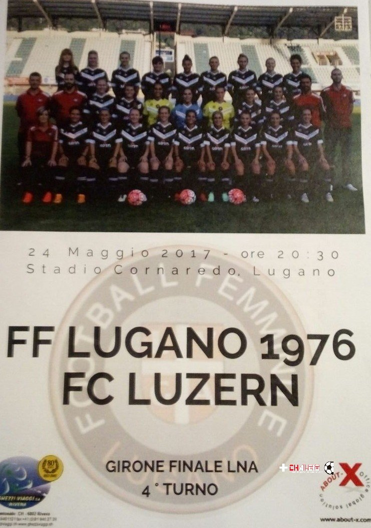 Frauen LNA: Lugano – Lucerna 0-1