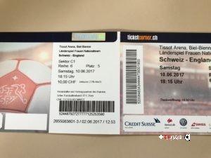 Nati femminile: 4 biglietti gratis per Svizzera – Inghilterra