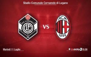 Aperta la prevendita per Lugano – Milan