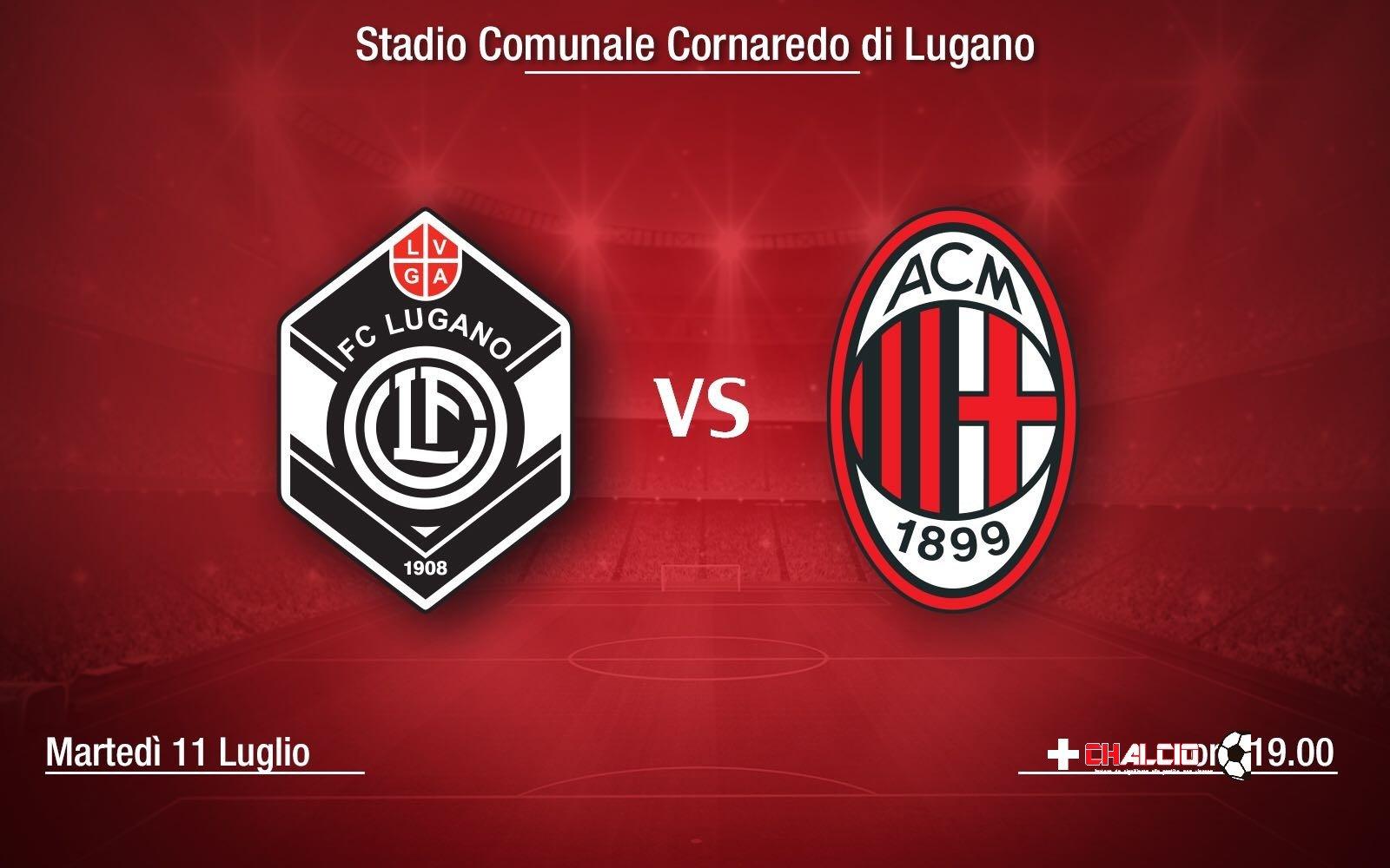 Lugano-Milan: I probabili undici dei rossoneri