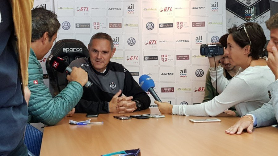 """Lugano, Tami: """"Contro il GC voglio una squadra arrabbiata"""""""
