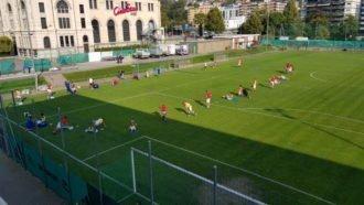Lugano, circuito di forza e partitelle nel menù pomeridiano