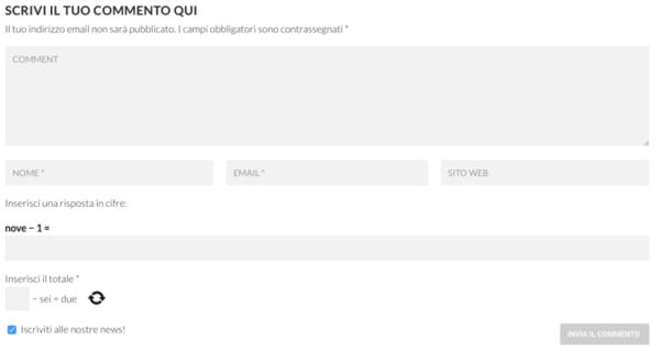 I commenti dei lettori di Chalcio.com