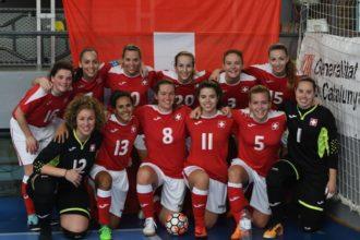 La Nazionale Svizzera Femminile di Calcio a 5 AMF torna a casa