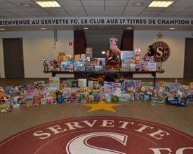 """"""" Un Enfant – Un Cadeau"""" : la generosità dei supporters del SFC"""