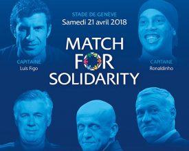 Partita della solidarietà a Ginevra