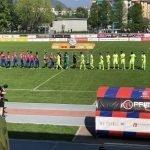 Il Chiasso gioca ,  l'Aarau segna e vince.  Audio con Simone Belometti
