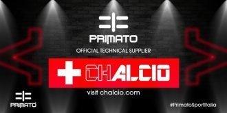 Primato Sport Italia Partner di Chalcio.com, promozione Special One per società e calciatori