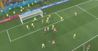 Russia 2018, Brasile-Svizzera minuto per minuto