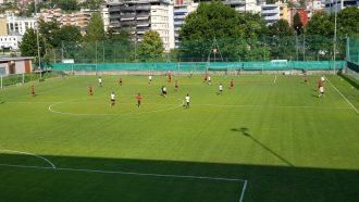 Lugano, defaticante per gli uni e partitella con l'U21 per gli altri