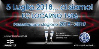 5 luglio 2018, presentazione nuovo FC Locarno 1906!