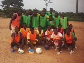 Il vostro materiale sportivo è arrivato in Africa, grazie!