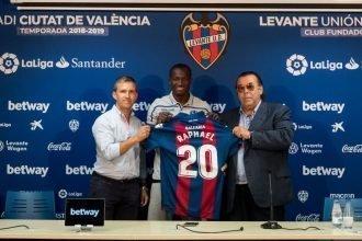 """Levante, Dwamena: """"Un passo importante nella mia carriera"""""""