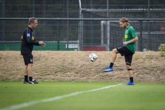 Mönchengladbach, Lang torna ad allenarsi