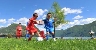 Arrivano 4000 palloni per il calcio giovanile Ticinese/Moesano