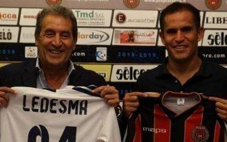 """ITA, Ledesma riparte dalla Serie C: """"Ma non sono qui per svernare"""""""