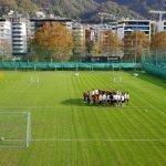 Lugano, è finalmente il sole ad accompagnare il ritorno in campo dei bianconeri