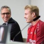 """UEL, Bayer Leverkusen-Zurigo, Brandt: """"L'obiettivo è uno solo: vincere"""""""
