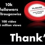 Fil Rouge Swiss raggiunge 10000 followers!