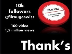 Fil Rouge Swiss raggiunge 10000 followers!