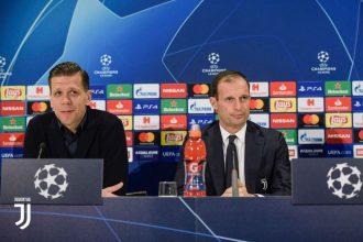 """Young Boys-Juventus, Allegri: """"Arrivare primi è molto importante, è un obiettivo"""""""