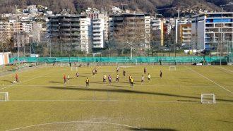 Lugano, un allenamento di scarico (e non) contraddistinto dal forte vento