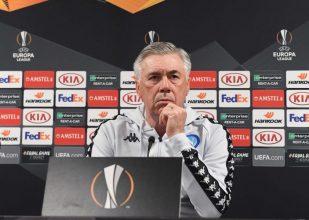 """UEL, Zurigo-Napoli, Ancelotti: """"Non sarà facile vincere, ma abbiamo molta fiducia nei nostri mezzi"""""""