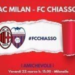 Amichevole,  Chiasso battuto dal Milan per 2 a 0