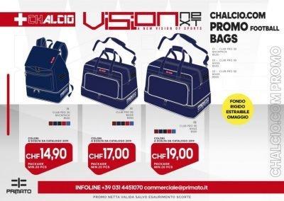CHALCIO.COM PROMO BAGS LINE 2019